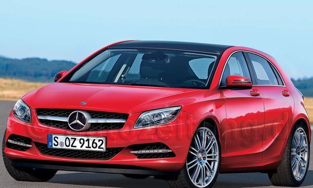 Neue Mercedes A-Klasse: flacher und sportlicher