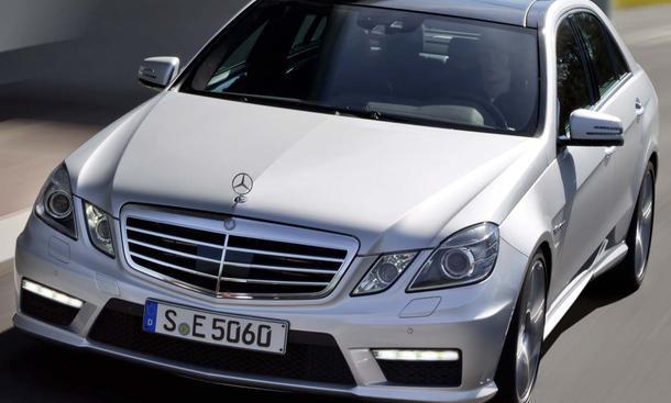 Mercedes E 63 AMG mit neuem V8-Biturbo