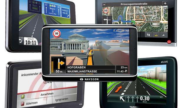Navigationsgeräte im Test