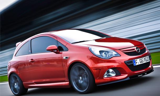 Opel Corsa OPC Nürburgring Edition 500 Exemplare