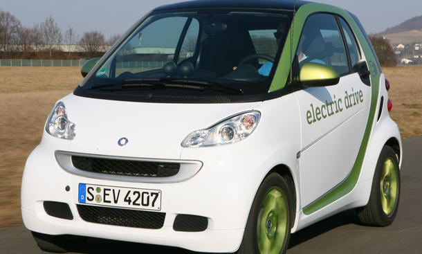 Smart Fortwo Electric Drive im Reichweitentest