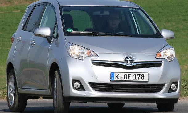 Toyota Verso-S 1.33 Sprintmessungen