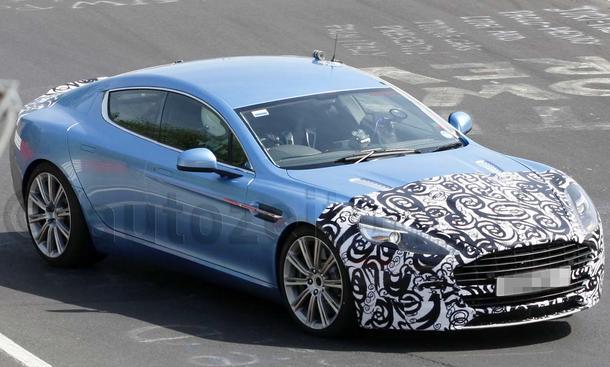 Aston Martin Rapide S Erlkönig 2011