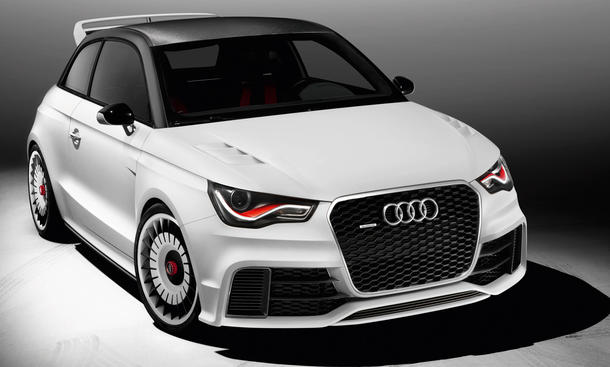 Audi A1 Clubsport Quattro GTI-Treffen 2011