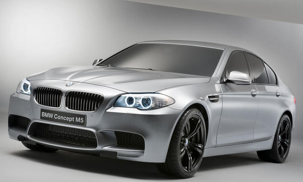BMW M5 Concept Haifischmaul