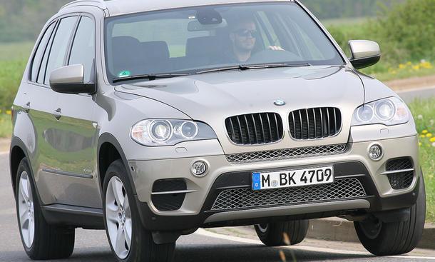 BMW X5 xDrive30d ab 54.500 Euro
