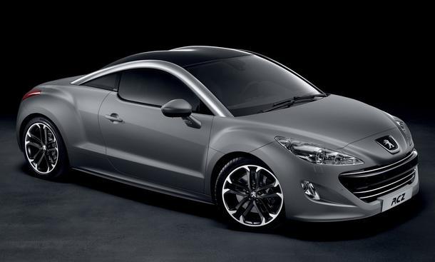 Bilder Peugeot RCZ Asphalt Front