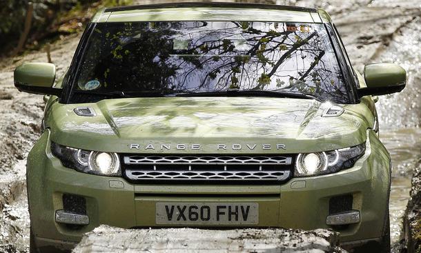 Range Rover Evoque Coupé SD4 Bilder von der ersten Ausfahrt