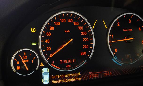 Reifendruck-Kontrollsystem BMW 5er