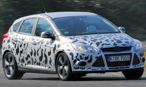 Neuer Ford Focus ST 2012