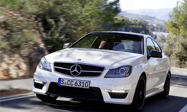Mercedes C-Klasse Coupe AMG 2011 ab Juni zu den Händlern