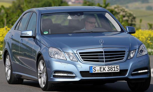 Mercedes E 350 BlueEFFICIENCY ... im Fahrbericht