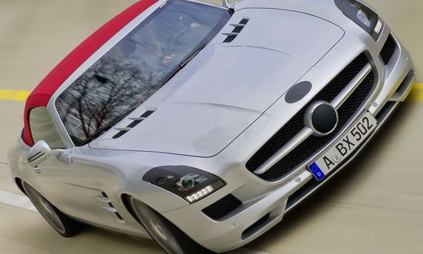 Mercedes SLS AMG Roadster - Premiere zur IAA 2011
