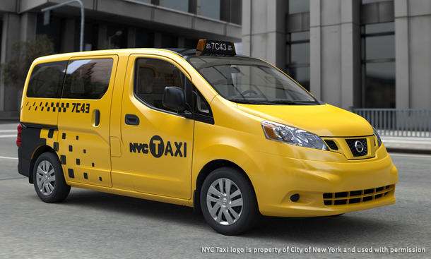 Nissan NV200 New York City Taxi of Tomorrow 2011
