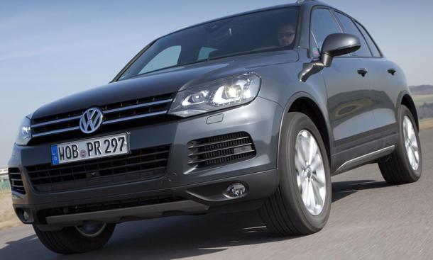 VW Touareg V6 TDI BlueMotion Technology Einsteigermodell