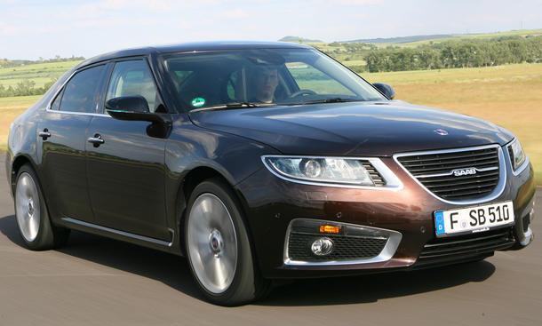 Saab 9-5 2.8T V6 XWD Aero im Vergleichstest der AUTO ZEITUNG