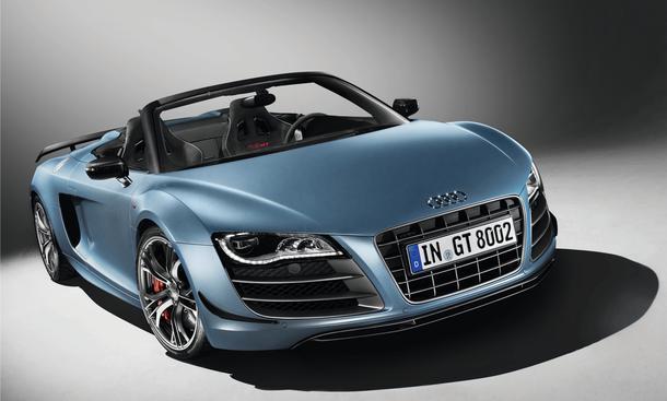 Audi R8 GT Spyder 2011