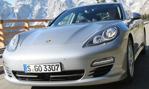 Bilder Porsche Panamera S Hybrid Motoren