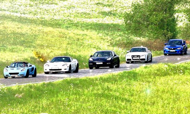 Faszination Sportwagen 2011 Lotus, Corvette, Porsche, Audi, Subaru im Vergleich