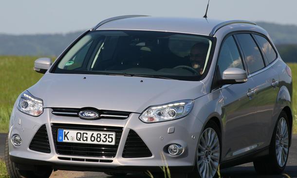 Ford Focus Turnier 1.6 TDCi - Frontansicht