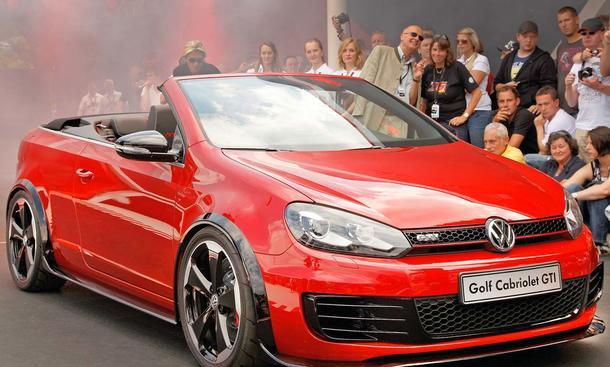 VW Golf GTI Cabriolet Concept