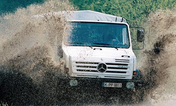 Mercedes-Benz Unimog: 60 Jahre