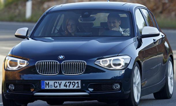 BMW 1er 2011: IAA-Premiere