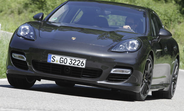 Porsche Panamera Turbo S - Neues Topmodell