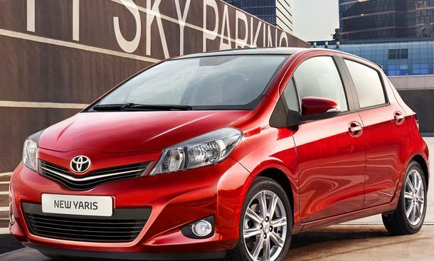 Neuer Toyota Yaris - ab 11.675 Euro