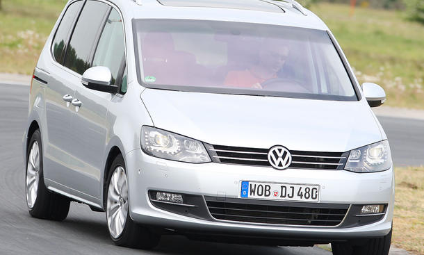 VW Sharan 2.0 TDI BlueMotion Technology ab 26.600 Euro