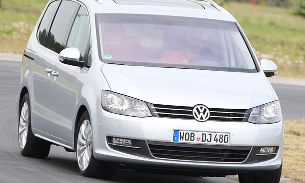 VW Sharan 2.0 TDI BlueMotion Technology ab 26.600 Euro