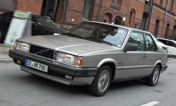 Volvo 780 Bertone Coupé - Stolzes Schiff