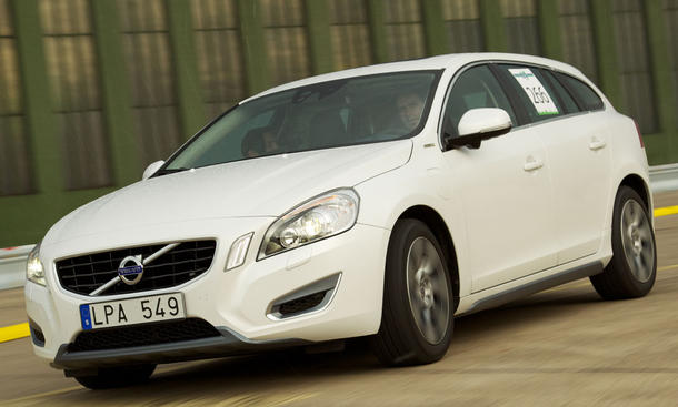 Volvo V60 Plug in Hybrid im Fahrbericht