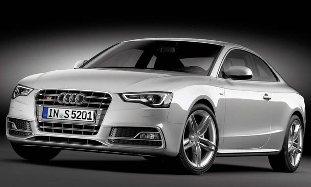 audi a5 und s5 facelift. Black Bedroom Furniture Sets. Home Design Ideas