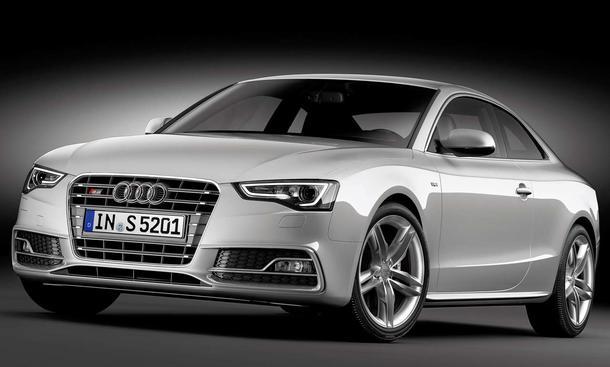 Audi S5 Facelift 2011 - Front