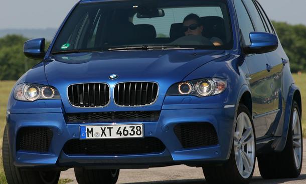 Der BMW X5 M ist mittlerweile kein taufrisches Auto mehr