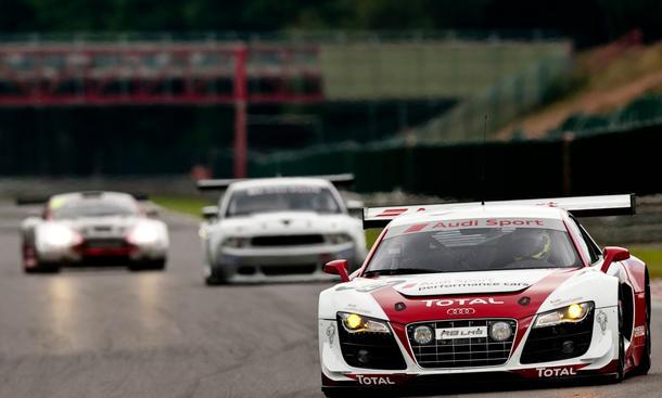 Bilder Audi 24h von Belgien