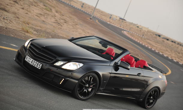 brabus e klasse cabrio e v12 cabriolet mit 800 ps. Black Bedroom Furniture Sets. Home Design Ideas