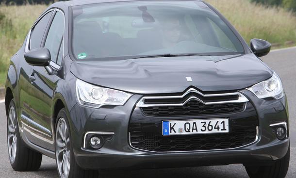 Citroën DS4 HDi 110 mit auffallendem Design
