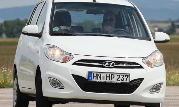 Hyundai i10 1.1 - ...im Test