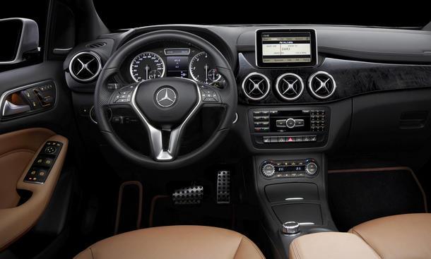 Mercedes B-Klasse 2011 Innenraum