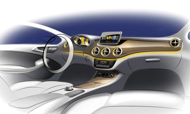 Mercedes b klasse 2011 erste bilder vom innenraum for Innenraum design app