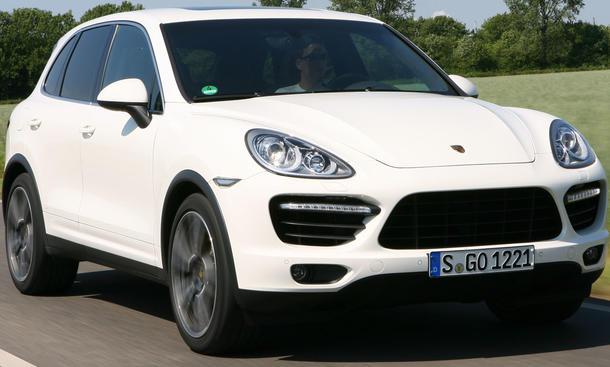 Imposante Erscheinung: der Porsche Cayenne Turbo