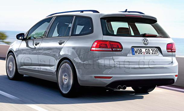 VW Golf VII Variant 2013
