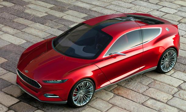 Neuer Ford Evos Concept Studie auf der  IAA 2011