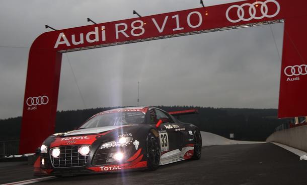 Audi triumphiert bei den 24 Stunden in Spa-Francorchamps
