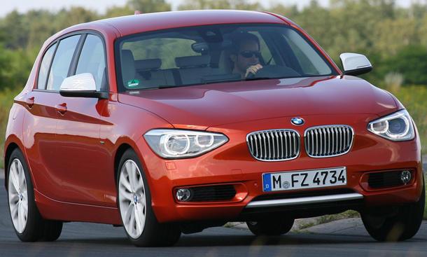 Der BMW 120d ist ein starker Gegner für den Golf