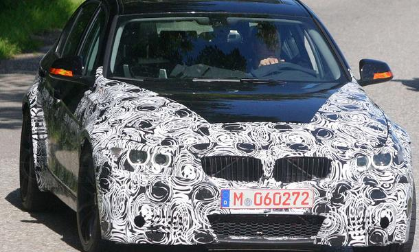 BMW M3 Erlkönig 2011