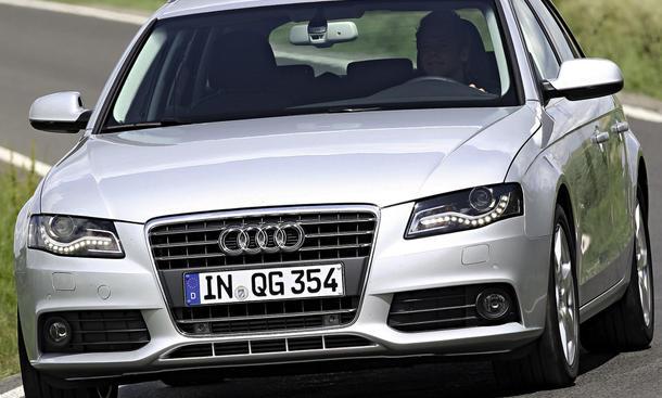 Bilder Audi A4 TDI Avant Front