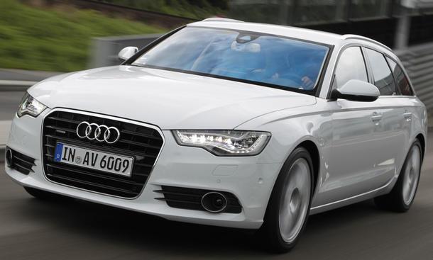 Bilder Audi A6 Avant 3.0 TDI quattro Front